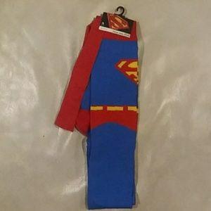 BN Superman Thigh High Socks